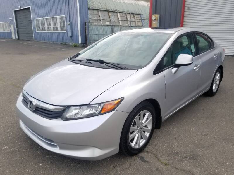 2012 Honda Civic for sale at California Auto Deals in Sacramento CA