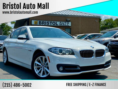2015 BMW 5 Series for sale at Bristol Auto Mall in Levittown PA
