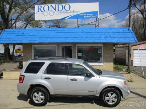 2008 Ford Escape for sale at Rondo Truck & Trailer in Sycamore IL