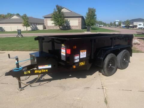 2022 Big Tex 70SR-10 Dump Box #2726