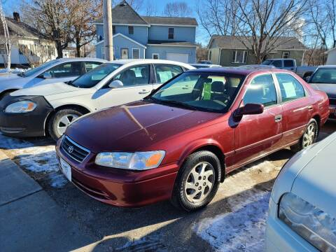 2001 Toyota Camry for sale at Nelson's Straightline Auto in Independence WI