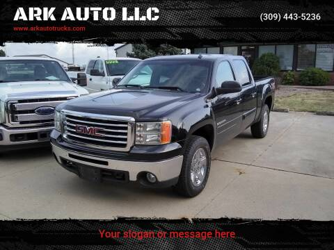 2012 GMC Sierra 1500 for sale at ARK AUTO LLC in Roanoke IL