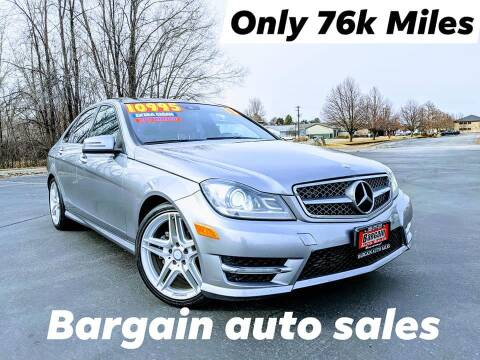 2013 Mercedes-Benz C-Class for sale at Bargain Auto Sales LLC in Garden City ID