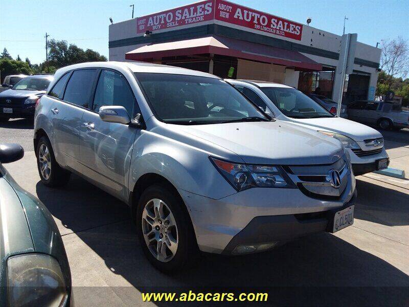 2009 Acura MDX for sale at About New Auto Sales in Lincoln CA