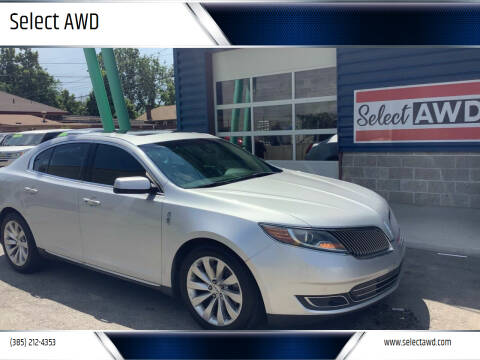 2014 Lincoln MKS for sale at Select AWD in Provo UT