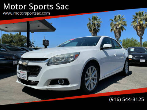 2015 Chevrolet Malibu for sale at Motor Sports Sac in Sacramento CA