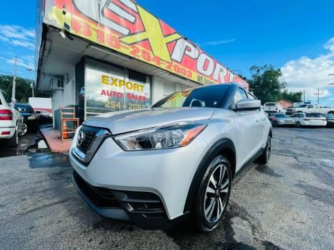 2019 Nissan Kicks for sale at EXPORT AUTO SALES, INC. in Nashville TN