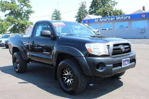 2005 Toyota Tacoma for sale at All American Motors in Tacoma WA
