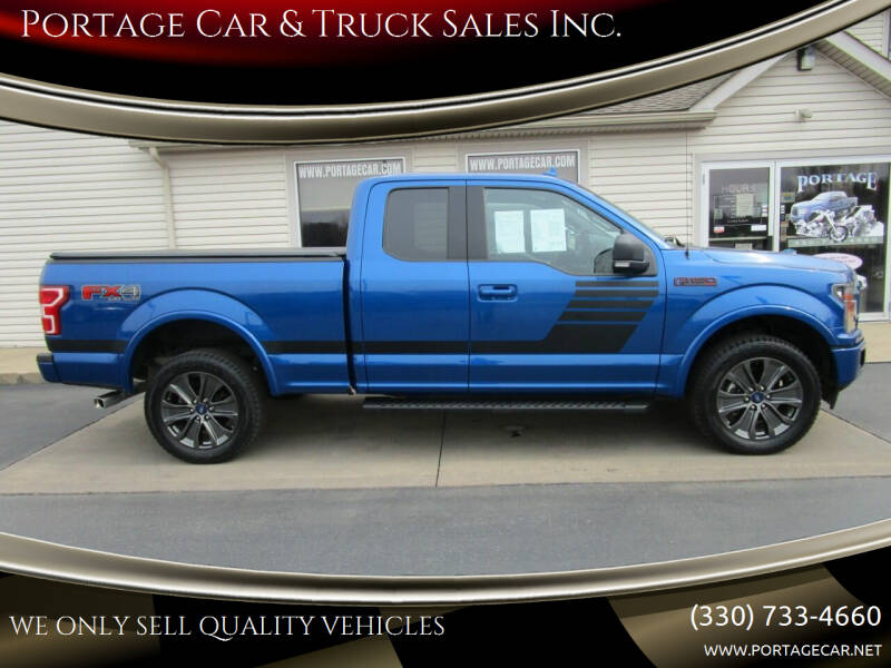 2018 Ford F-150 for sale at Portage Car & Truck Sales Inc. in Akron OH