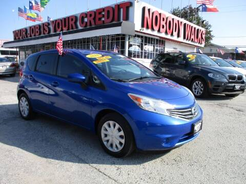 2016 Nissan Versa Note for sale at Giant Auto Mart 2 in Houston TX