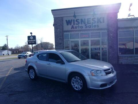 2012 Dodge Avenger for sale at Wisneski Auto Sales, Inc. in Green Bay WI