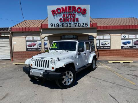 2012 Jeep Wrangler Unlimited for sale at Romeros Auto Center in Tulsa OK