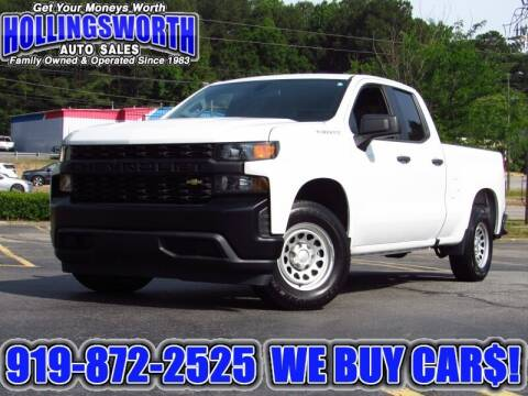 2019 Chevrolet Silverado 1500 for sale at Hollingsworth Auto Sales in Raleigh NC