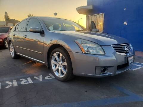 2007 Nissan Maxima for sale at GENERATION 1 MOTORSPORTS #1 in Los Angeles CA