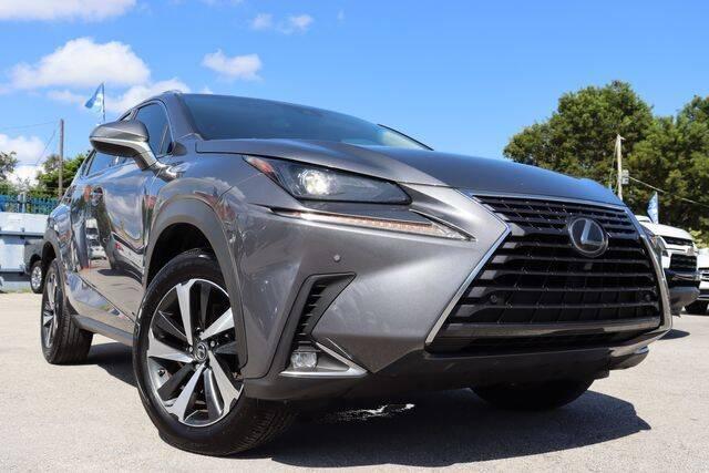 2018 Lexus NX 300 for sale at OCEAN AUTO SALES in Miami FL