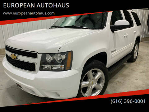 2013 Chevrolet Tahoe for sale at EUROPEAN AUTOHAUS in Holland MI