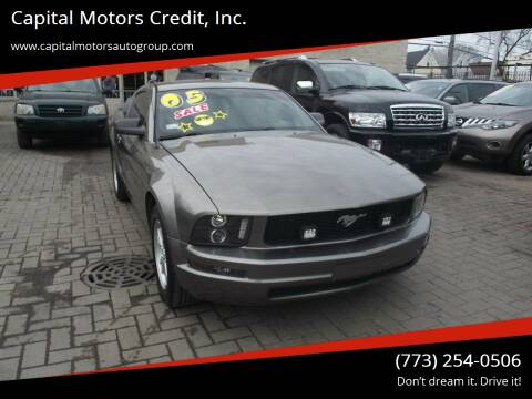 2005 Ford Mustang for sale at Capital Motors Credit, Inc. in Chicago IL