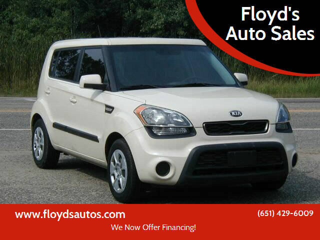 2013 Kia Soul for sale at Floyd's Auto Sales in Stillwater MN