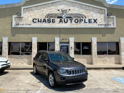 2016 Jeep Compass for sale at CHASE AUTOPLEX in Lancaster TX