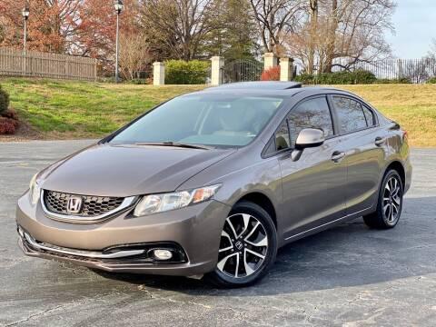 2013 Honda Civic for sale at Sebar Inc. in Greensboro NC