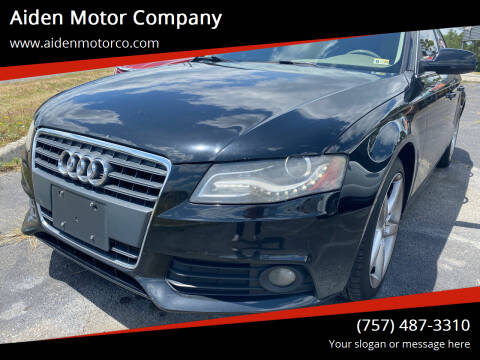 2011 Audi A4 for sale at Aiden Motor Company in Portsmouth VA