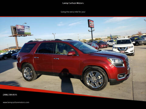 2017 GMC Acadia Limited for sale at Lanny Carlson Motors in Kearney NE