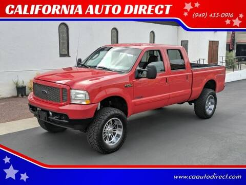 2003 Ford F-250 Super Duty for sale at CALIFORNIA AUTO DIRECT in Costa Mesa CA