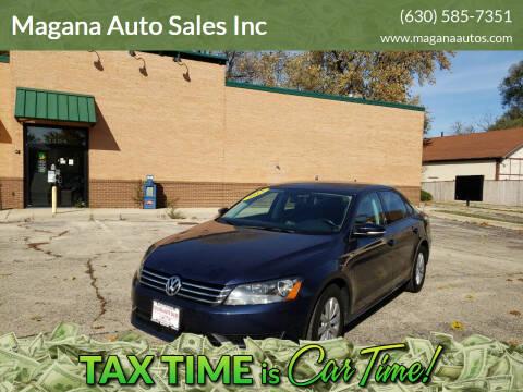 2015 Volkswagen Passat for sale at Magana Auto Sales Inc in Aurora IL