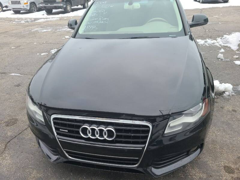 2009 Audi A4 for sale at All State Auto Sales, INC in Kentwood MI