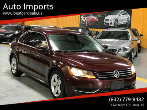 2014 Volkswagen Passat for sale at Auto Imports in Houston TX