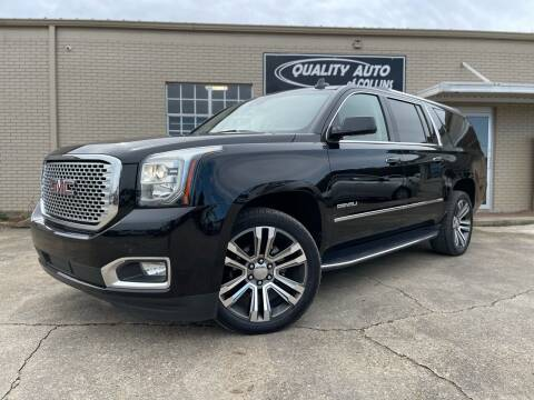 2017 GMC Yukon XL for sale at Quality Auto of Collins in Collins MS