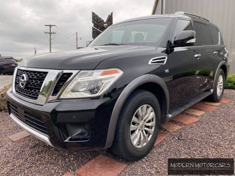 2017 Nissan Armada for sale at Modern Motorcars in Nixa MO
