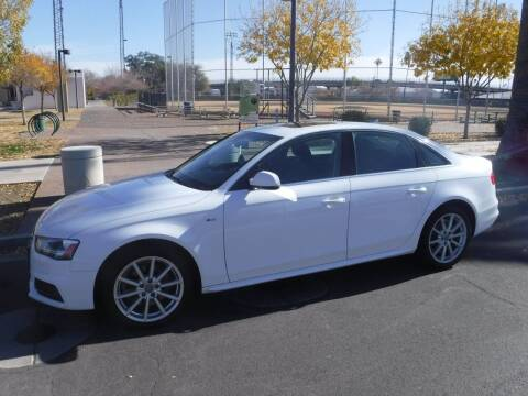 2016 Audi A4 for sale at J & E Auto Sales in Phoenix AZ