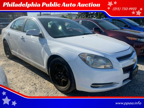 2010 Chevrolet Malibu for sale at Philadelphia Public Auto Auction in Philadelphia PA