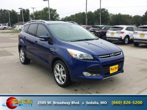 2013 Ford Escape for sale at RICK BALL FORD in Sedalia MO