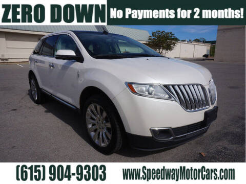 2015 Lincoln MKX for sale at Speedway Motors in Murfreesboro TN