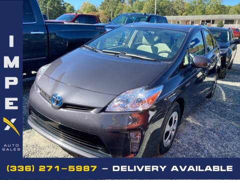 2012 Toyota Prius for sale at Impex Auto Sales in Greensboro NC