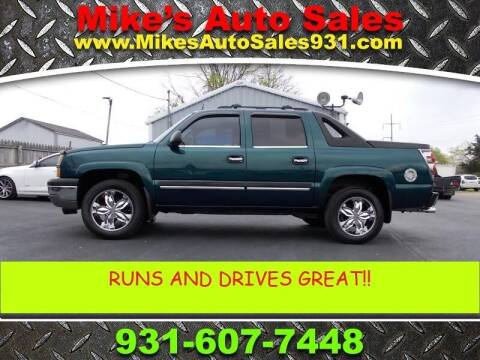 2005 Chevrolet Avalanche for sale at Mike's Auto Sales in Shelbyville TN