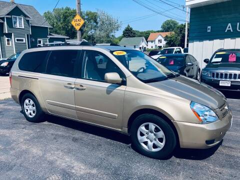 2008 Kia Sedona for sale at SHEFFIELD MOTORS INC in Kenosha WI