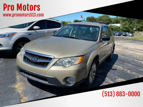 2008 Subaru Outback for sale at Pro Motors in Fairfield OH