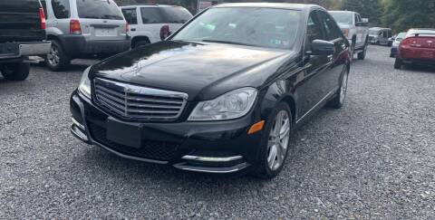 2013 Mercedes-Benz C-Class for sale at JM Auto Sales in Shenandoah PA