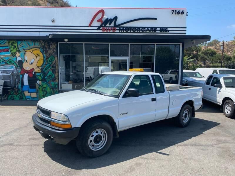 2000 Chevrolet S-10 for sale in Tujunga, CA