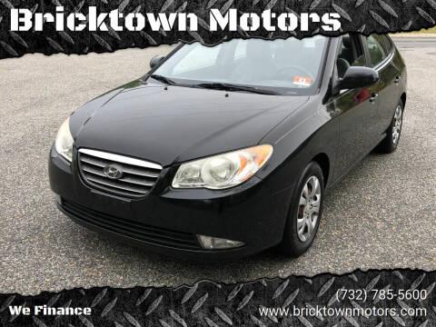 2009 Hyundai Elantra for sale at Bricktown Motors in Brick NJ