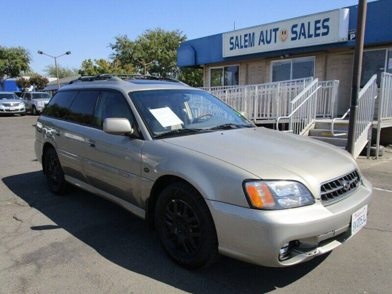 2003 Subaru Outback for sale at Salem Auto Sales in Sacramento CA