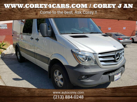 2016 Mercedes-Benz Sprinter Crew for sale at WWW.COREY4CARS.COM / COREY J AN in Los Angeles CA