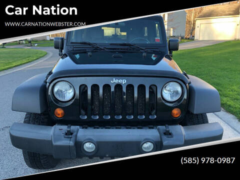 2007 Jeep Wrangler Unlimited for sale at Car Nation in Webster NY