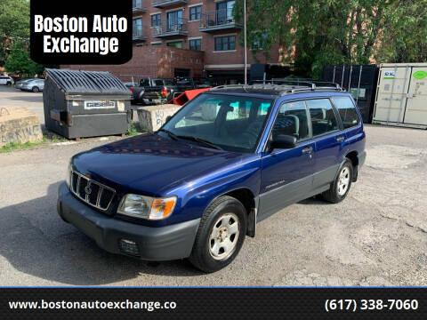 2002 Subaru Forester for sale at Boston Auto Exchange in Boston MA