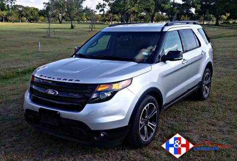 2015 Ford Explorer for sale at H & H AUTO SALES in San Antonio TX