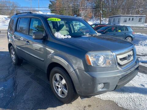 2011 Honda Pilot for sale at USA Auto Sales in Leominster MA
