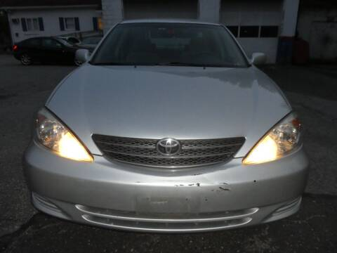 2003 Toyota Camry for sale at Wheels and Deals in Springfield MA